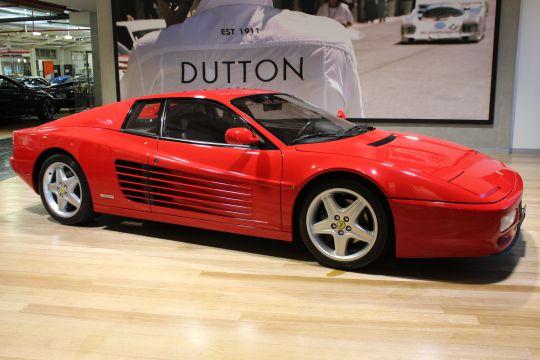 1994 Ferrari 512 TR Euro Spec- sold in Australia