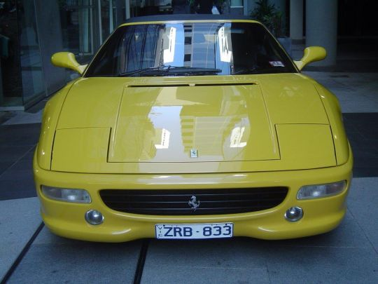 1998 Ferrari 355- sold in Australia