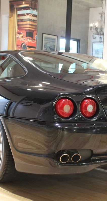 1998 Ferrari 550 Maranello- sold in Australia