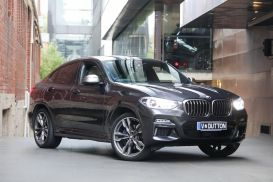 2018 BMW X4 G02 M40i Coupe 5dr Steptronic 8sp 4x4 3.0T [May]