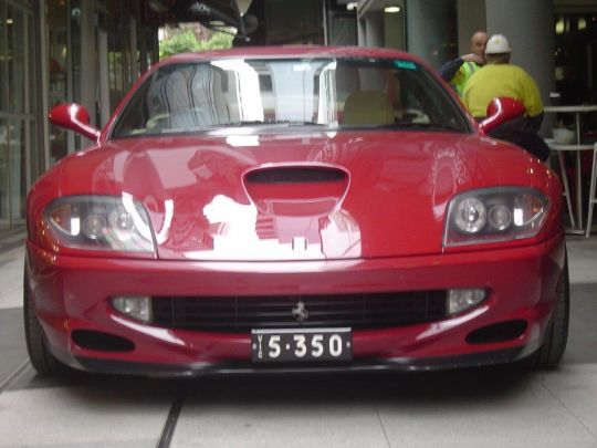 2000 Ferrari 550- sold in Australia