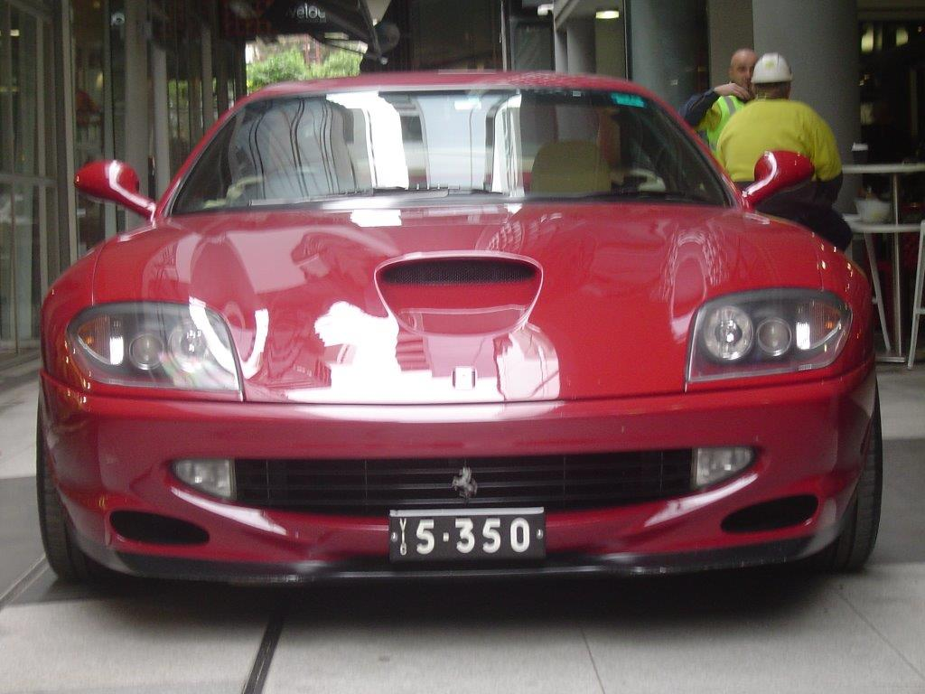 2000 Ferrari 550- sold in Australia
