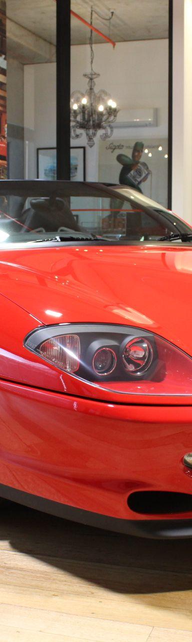 2001 Ferrari 550 Barchetta- sold in Australia