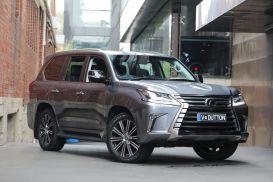 2017 Lexus LX URJ201R LX570 Wagon 8st 5dr Spts Auto 8sp, 4x4 5.7i [Aug]