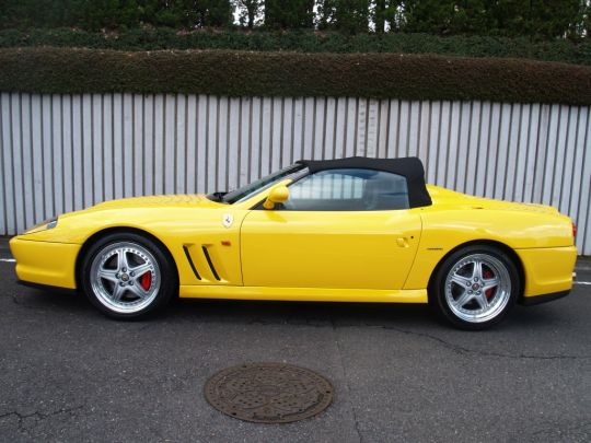 2001 Ferrari 550 Barchetta Convertable- sold in Australia