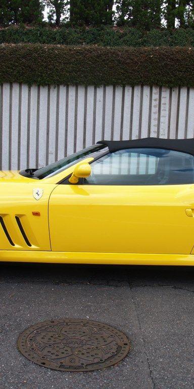 2001 Ferrari 550 Barchetta Convertable- sold in Australia