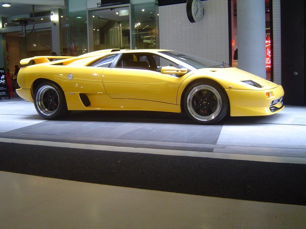2001 Lamborgini Diablo SV- sold in Australia