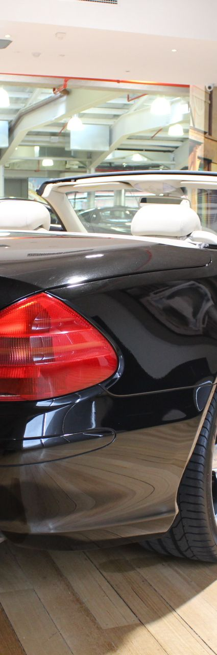 2003 MERCEDES SL500 R230- sold in Australia