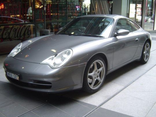 2003 Porsche 996 Carrera- sold in Australia