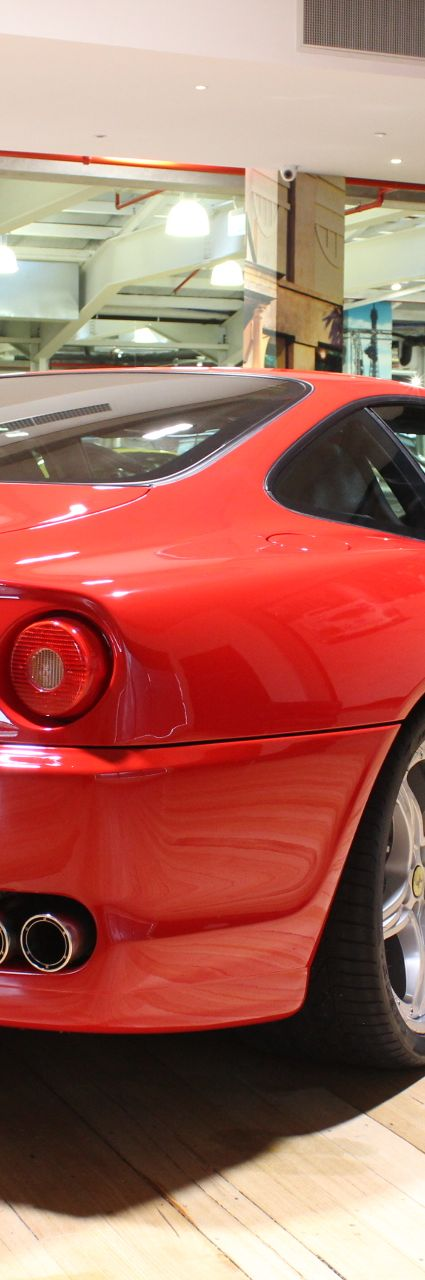 2005 Ferrari 575M HGTC- sold in Australia