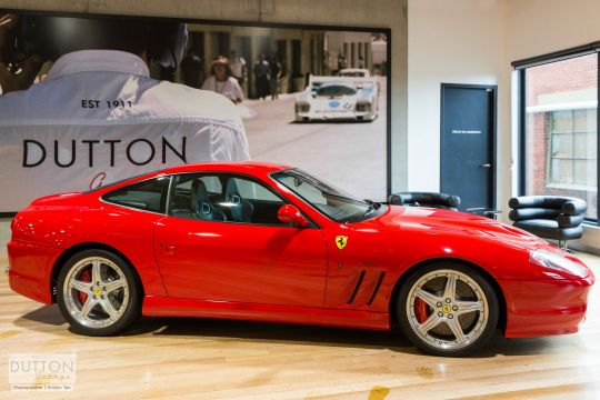 2005 Ferrari 575M HGTC- sold in Australia