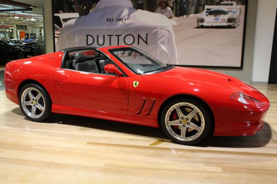 2006 Ferrari 575 Superamerica- sold in Australia