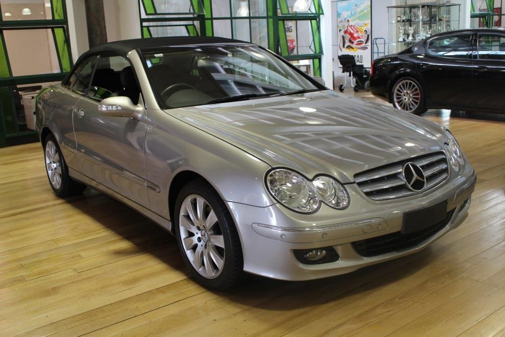 2006 mercedes benz clk350 elegance my07 sports automatic
