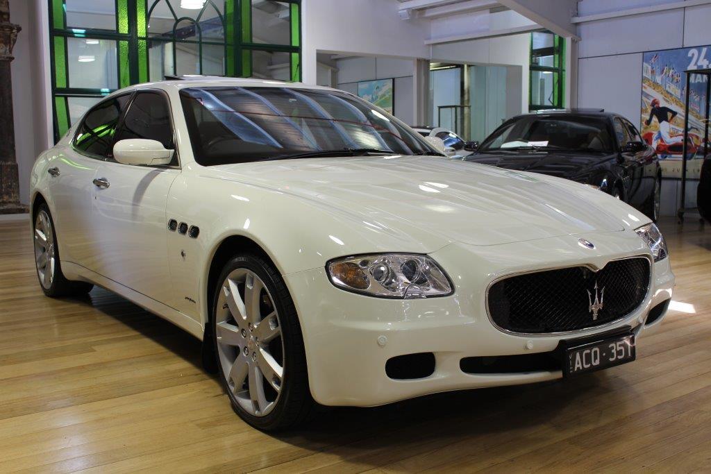 2007 Maserati Qporte Sport GT- sold in Australia