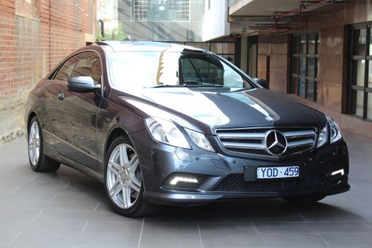 2009 MERCEDES E500 C207- sold in Australia