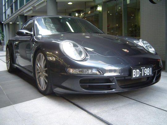 2009 Porsche 997 Targa 4- sold in Australia