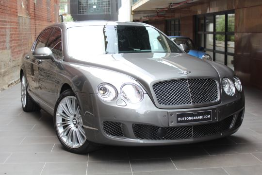 2010 BENTLEY CONTINENTAL 3W MY11 FLYING SPUR SPEED- sold in Australia