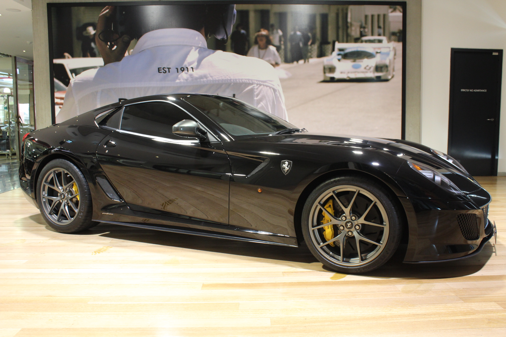 2010 Ferrari 599 GTO- sold in Australia