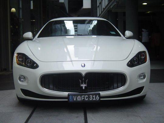 2010 Maserati GranTurismo- sold in Australia