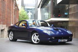 1999 Ferrari 550 Maranello Coupe 2dr Man 6sp 5.5i