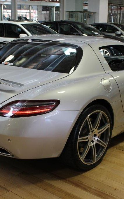 2010 Mercedes SLS AMG- sold in Australia