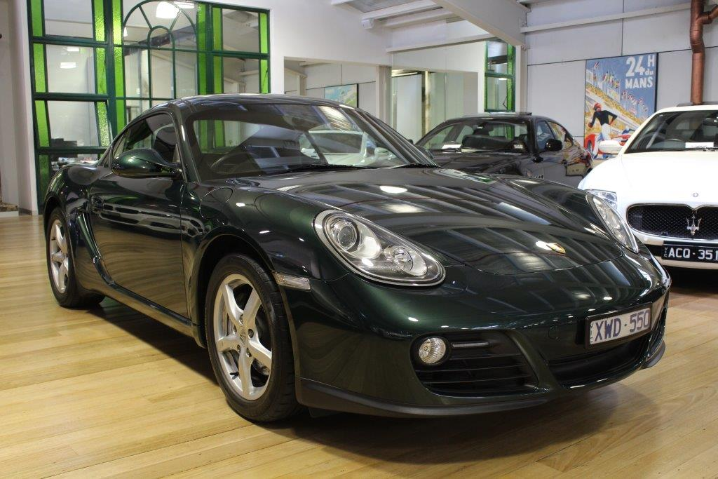 2010 Porsche Cayman 987- sold in Australia
