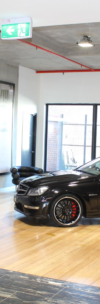 2012 MERCEDES C63 C204 MY12 AMG SPEEDSHIFT- sold in Australia
