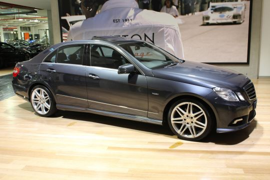 2012 MERCEDES E250 W212 MY12 BLUEEFFICIENCY 7G-TRONIC + AVANTGARDE- sold in Australia