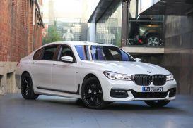 2016 BMW 7 Series G12 750Li Sedan 4dr Steptronic 8sp 4.4TT