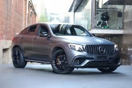 2019 Mercedes-Benz GLC-Class C253 GLC63 AMG S Coupe 5dr SPEEDSHIFT MCT 9sp 4MATIC+ 4.0TT