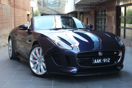 2013 JAGUAR F-TYPE X152 MY14 S- sold in Australia