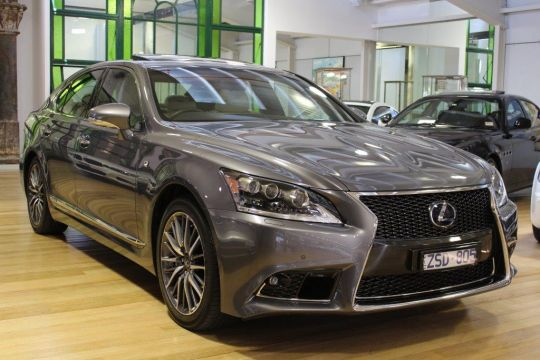 2013 Lexus LS600H- sold in Australia