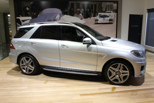 2013 MERCEDES ML63 W166 AMG SPEEDSHIFT- sold in Australia