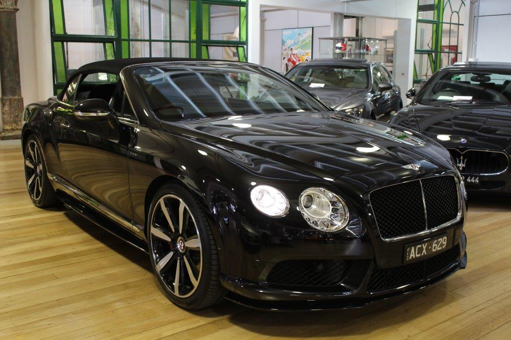 2014 Bentley Continental 3W- sold in Australia