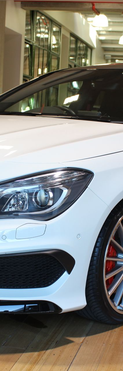 2014 MERCEDES CLA45 C117 AMG SPEEDSHIFT AWD- sold in Australia
