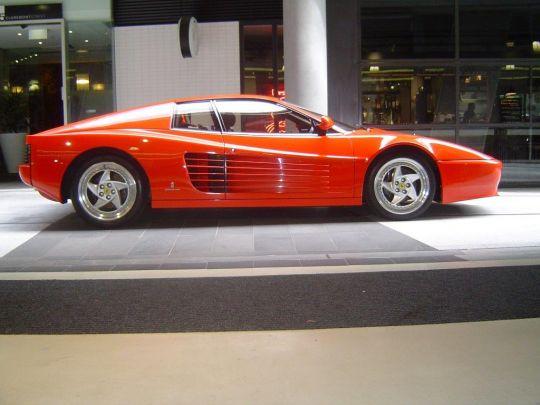 Ferrari 512TR- sold in Australia