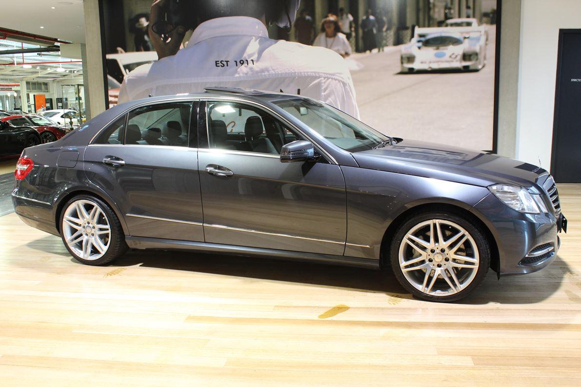 2011 MERCEDES E500 W212 AVANTGARDE 7G-TRONIC RESIZED - prestige luxury car for sale in australia