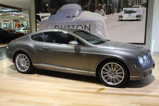 2008 BENTLEY CONTINENTAL 3W MY08 GT SPEED - prestige, luxury car for sale in Australia