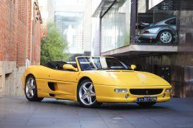 1997 Ferrari F355 Spider Convertible 2dr Man 6sp 3.5i