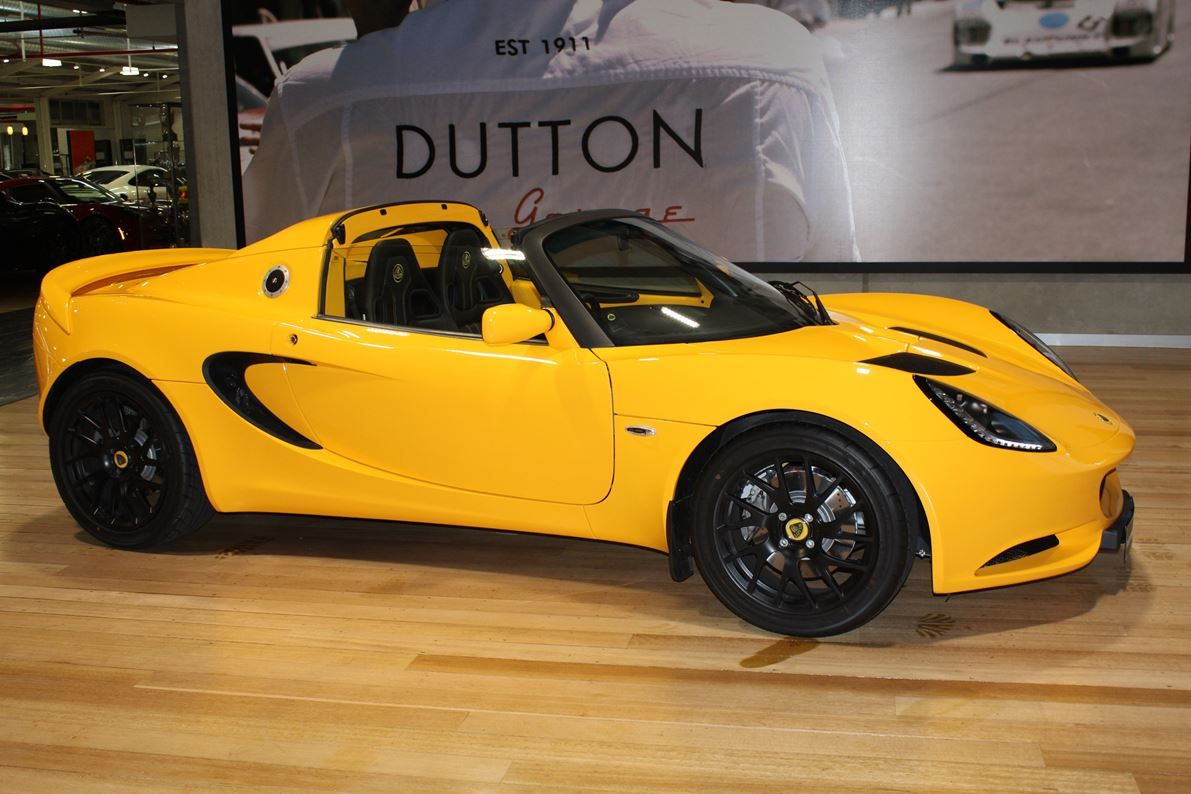 yellow lotus elise cars - photo #4