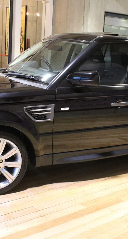 2009 LAND ROVER RANGE ROVER SPORT L320 MY10 TDV6 PRESTIGE LUXURY CAR FOR SALE IN AUSTRALIA