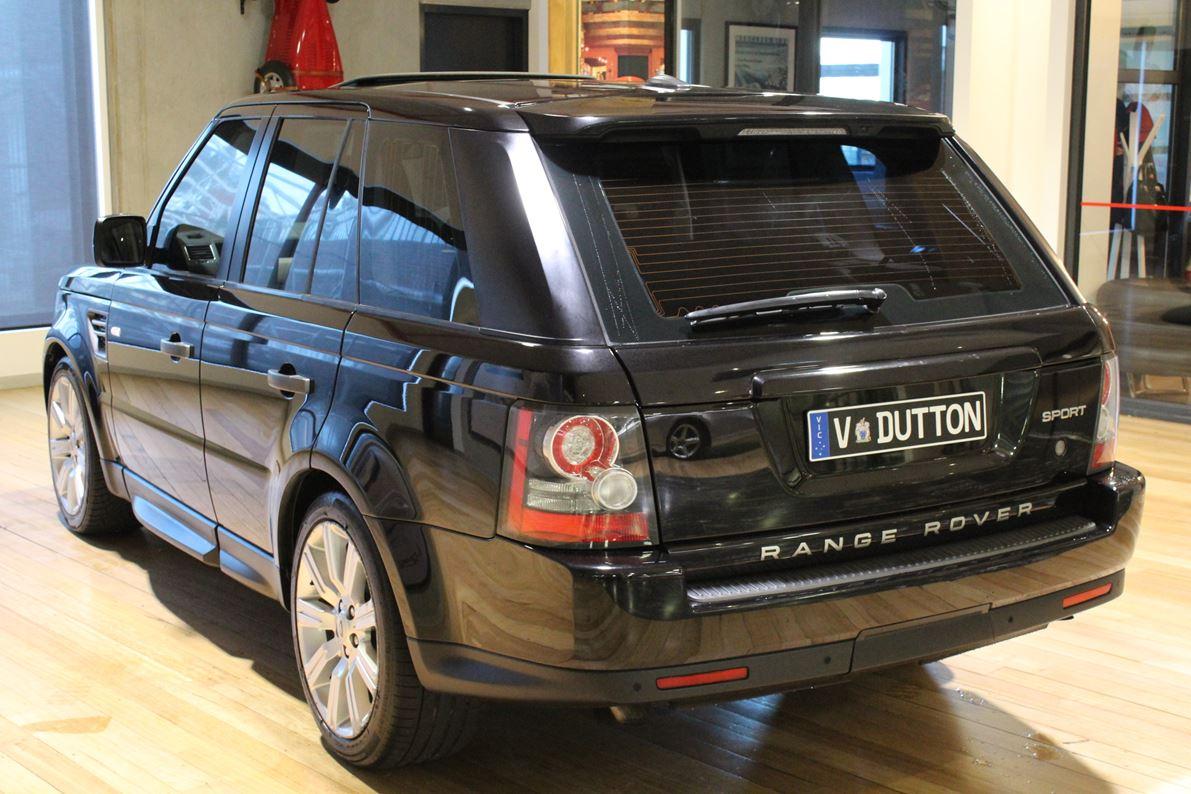Range Rover Sport >> 2009 LAND ROVER RANGE ROVER SPORT L320 MY10 TDV6
