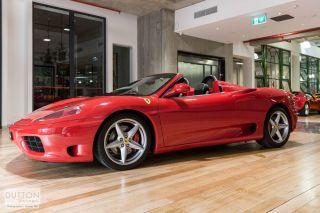 2003 Ferrari 360 Spider For Sale Dutton Garage