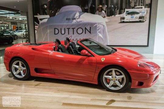 2003 FERRARI 360 SPIDER -for sale in Australia