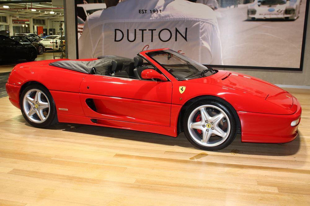 1999 Ferrari 355 F1-Spider - RED