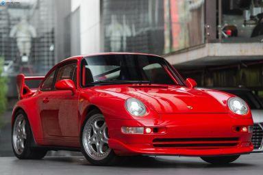 1996 Porsche 911 Carrera 993 RSCS Coupe 2dr Man 6sp 3.8i