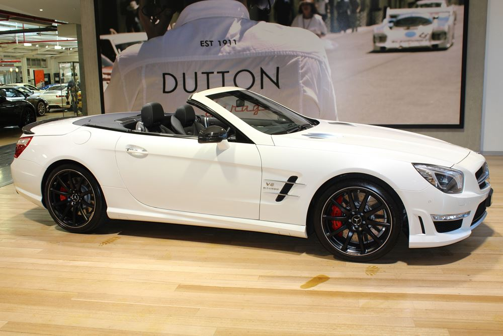 2013 Mercedes Benz SL63 AMG - RESIZED