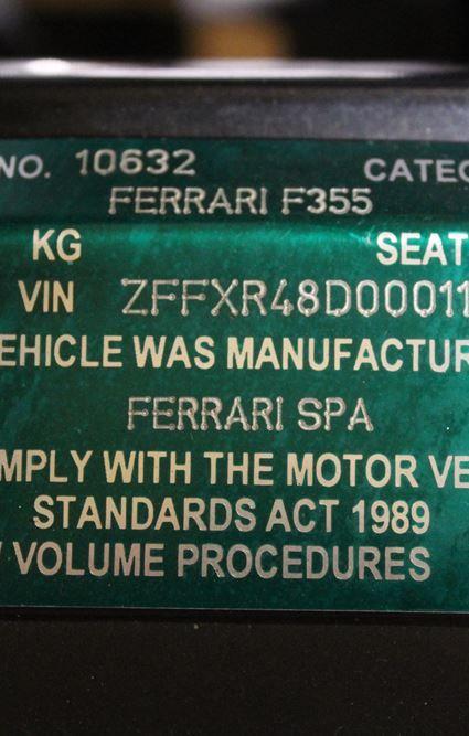 1997 FERRARI F355 SPIDER - for sale in Australia