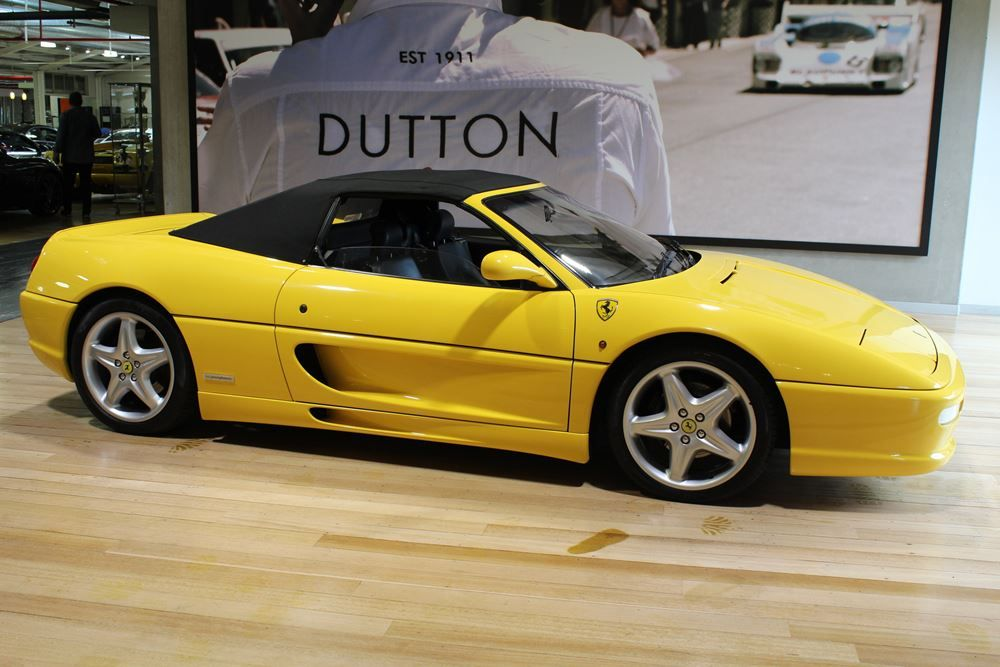 1997 ferrari f355 spider for sale dutton garage. Black Bedroom Furniture Sets. Home Design Ideas