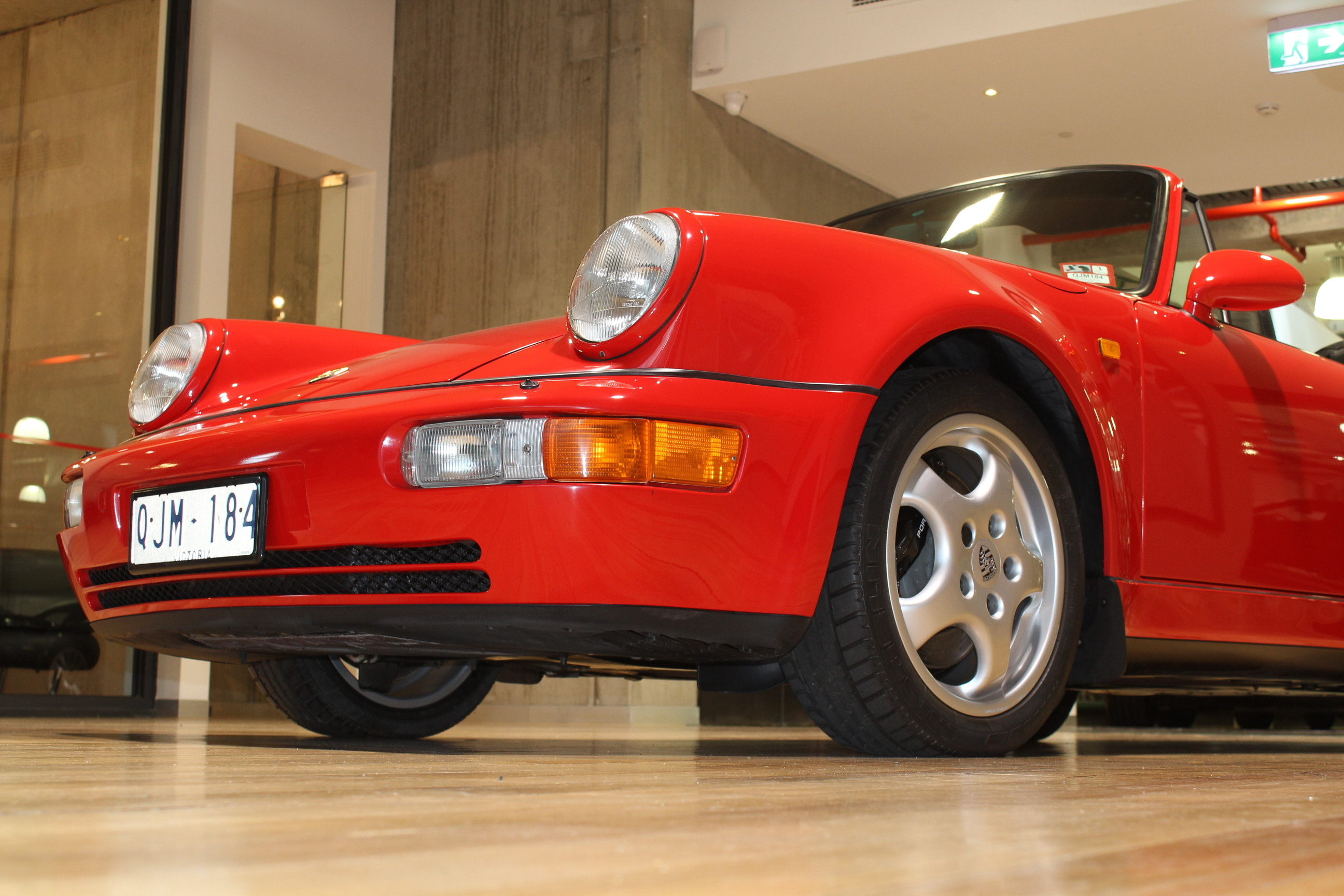 1993 Porsche 911 964 Turbo Look Cabriolet Duttongarage Com